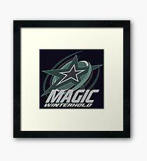 Winterhold Magic Framed Print