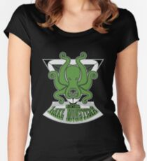 Morthal Lake Monsters Women's Fitted Scoop T-Shirt