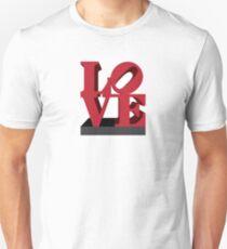 LOVE sculpture Unisex T-Shirt