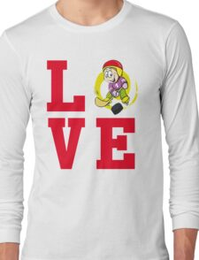 I Love Field Hockey T Shirt Long Sleeve T-Shirt