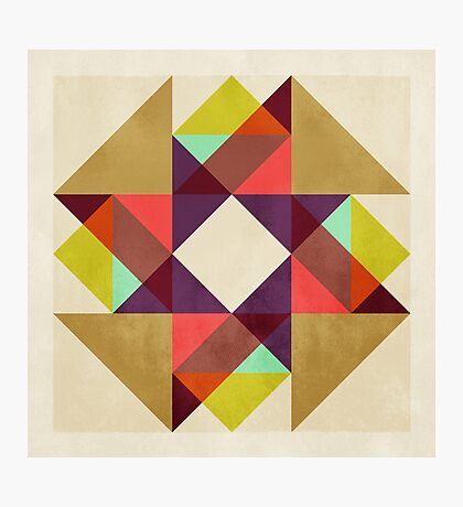 Quilt Block #02 Photographic Print