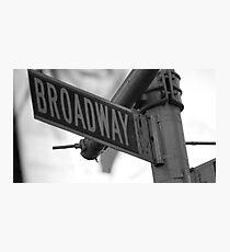 Broadway.: Photographic Print