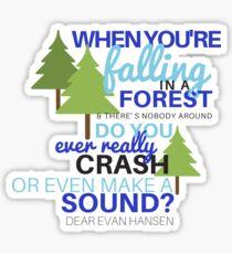 Dear Evan Hansen- Waving Through a Window Sticker