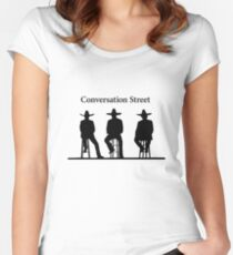 Conversation Street (Mexican Hats) - The Grand Tour Women's Fitted Scoop T-Shirt