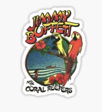 jimmy buffet tour 2016-2017 Sticker