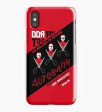 Autobahn 1982 East German Tour T-Shirt iPhone Case