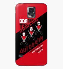 Autobahn 1982 East German Tour T-Shirt Case/Skin for Samsung Galaxy