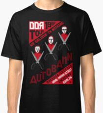 Autobahn 1982 East German Tour T-Shirt Classic T-Shirt