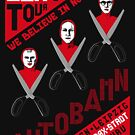 Autobahn 1982 East German Tour T-Shirt by castlepop