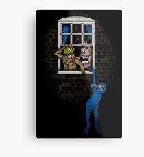 Banksy Muppets Metal Print