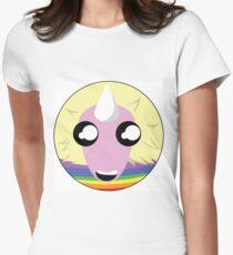 Lady Rainicorn! Women's Fitted T-Shirt