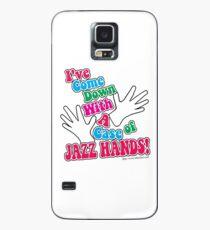 A Case of Jazz Hands Case/Skin for Samsung Galaxy