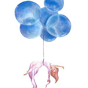Nel blu dipinto di blu by Marsill