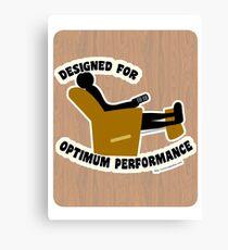 Optimum Performance Canvas Print