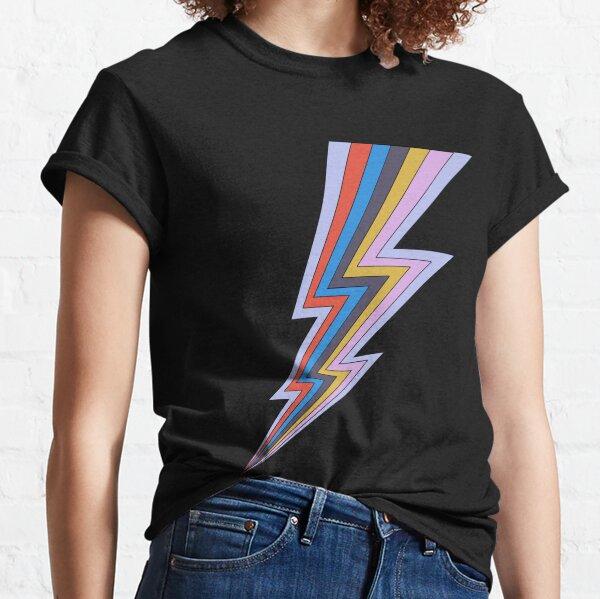 Rainbow Lightning Bolt  Classic T-Shirt