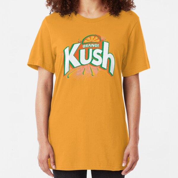 Orange Kush Slim Fit T-Shirt