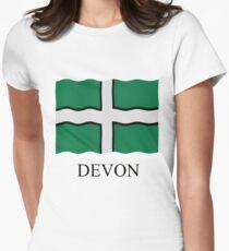 Devon flag Women's Fitted T-Shirt