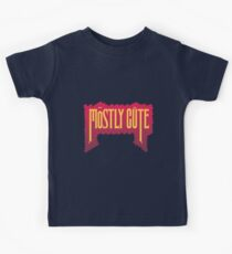 Mostly Cute by lilterra.com Kids Tee