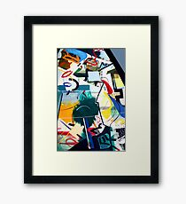 Abstract: Computer World Framed Print