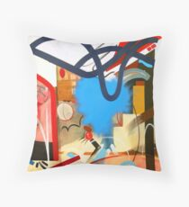Abstract Interior #4 Throw Pillow