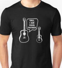 Camiseta unisex Uke I'm Your Father Ukelele Guitar Funny