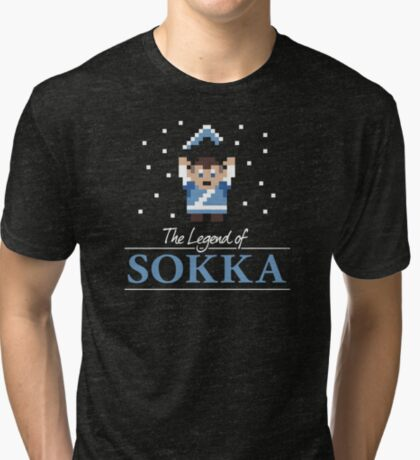 The Legend of Sokka Tri-blend T-Shirt