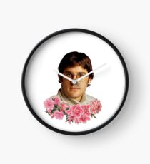 flowery louis theroux Clock