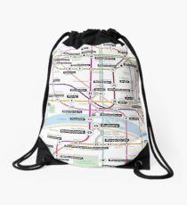#tagsandthecity / Paris Drawstring Bag