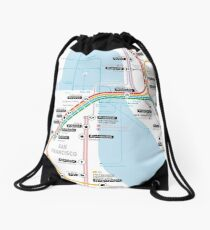#tagsandthecity / San Francisco Drawstring Bag