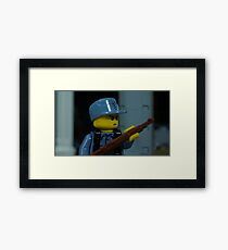 WWII Chinese KMT Soldier Framed Print