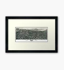 Tulsa - Oklahoma - 1918 Framed Print
