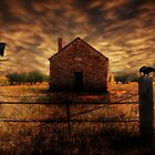 Old Farm House by Cliff Vestergaard