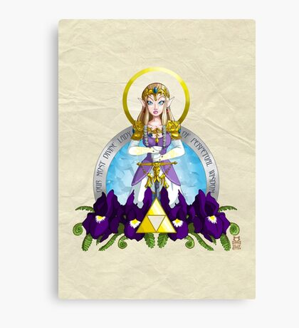Our Lady of Wisdom Canvas Print
