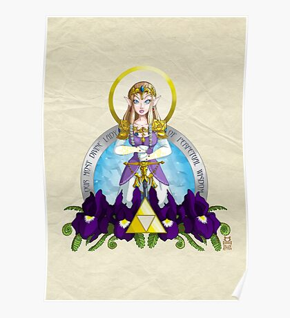Our Lady of Wisdom Poster