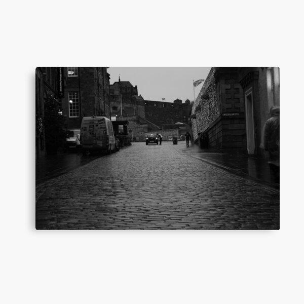 The Royal Mile - Edinburgh Castle Canvas Print