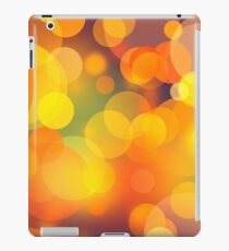 Colorful Bokeh Lights Art iPad Case/Skin