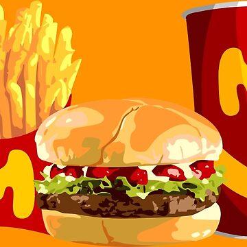 American Burger von wicket1138