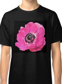 Pink Anemone Flower Classic T-Shirt