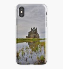 Yorkshire: Whitby Abbey Reflections. iPhone Case/Skin
