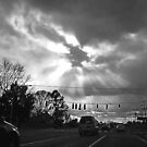 a cold December sky by nastruck