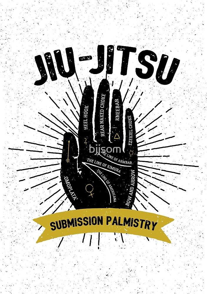 Jiu-jitsu. Submission palmistry by bjjsom