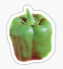 Green Is My Pepper Sticker
