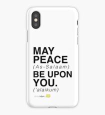 May Peace Be Upon You. iPhone Case/Skin