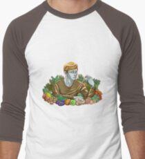 Kieren and Vegetables Men's Baseball ¾ T-Shirt