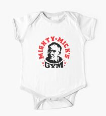 mighty mick's gym One Piece - Short Sleeve