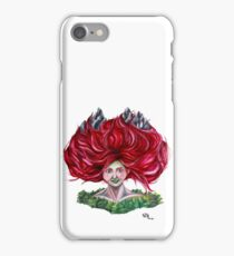 Hair Peaks iPhone Case/Skin