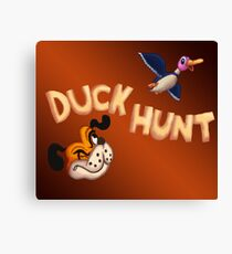 The Duck Hunt Show Canvas Print