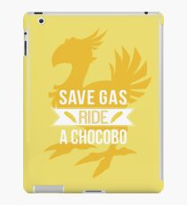 Save Gas Ride a Chocobo iPad Case/Skin