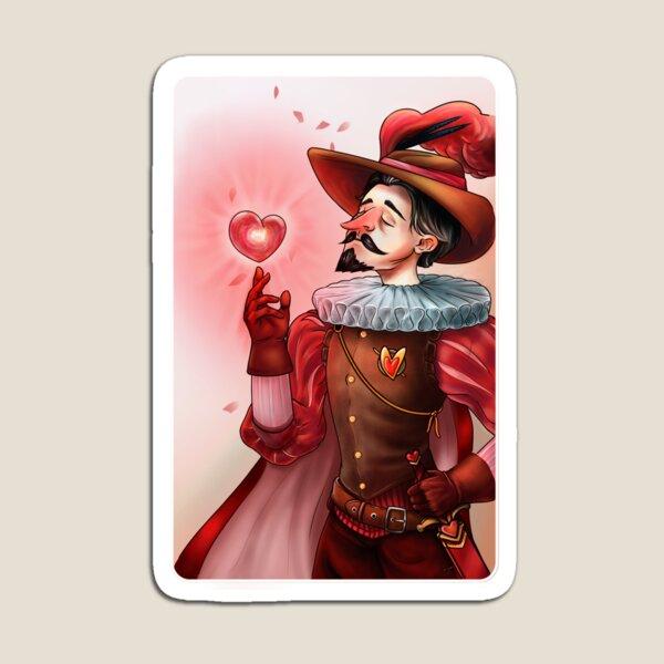 Jack of Hearts - Cirano Magnet