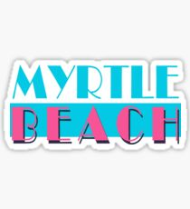 Myrtle Beach Vice South Carolina Sticker